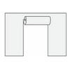 "Шатры-павильоны «Супер» от 36 м² Торцевая стенка с дверями для шатров ""Супер"""